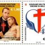 Il francobollo emesso dal Sovrano Ordine di Malta