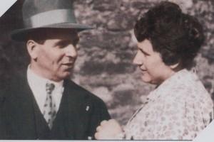 Igino e Maria Aristea nel 1950