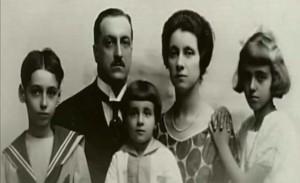 Germana e la sua famiglia