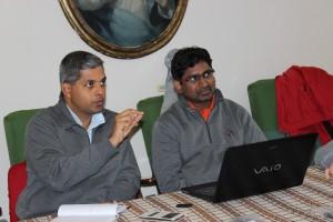 P. Anthoni e fr. Babu Madhu