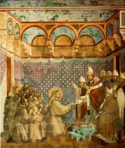 Giotto_-_Legend_of_St_Francis_-_-07-_-_Confirmation_of_the_Rule
