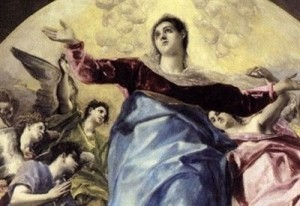 El Greco, Assunzione della Vergine (1577).