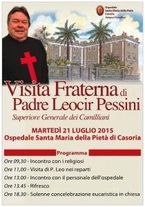 visita P. Leo a Casoria