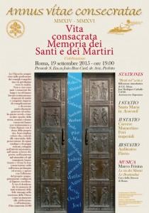 locandina SANTI E MARTIRI