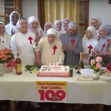 Suor Candida Bellotti compie 109 anni