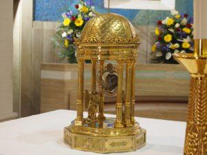 La Reliquia del Cuore di San Camillo all'Ospedale Militare Celio di Roma