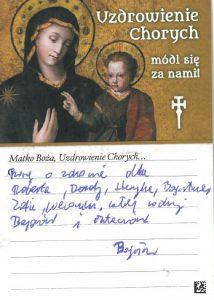 intenzione di preghiera