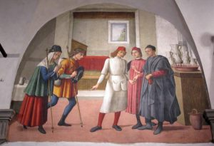 Buonomini_di_s._martino,_accogliere_i_pellegrini,_01