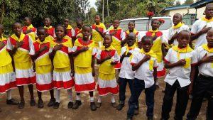 Tabaka, i bambini della scuola