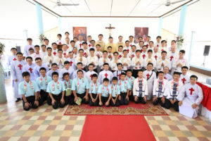13 nuovi seminaristi