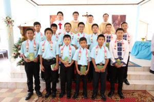 Gruppo dei nuovi seminaristi