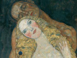 Gustav Klimt's Adam and Eve