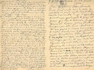 lettere del Tezza inviate alla Figlie di San Camillo
