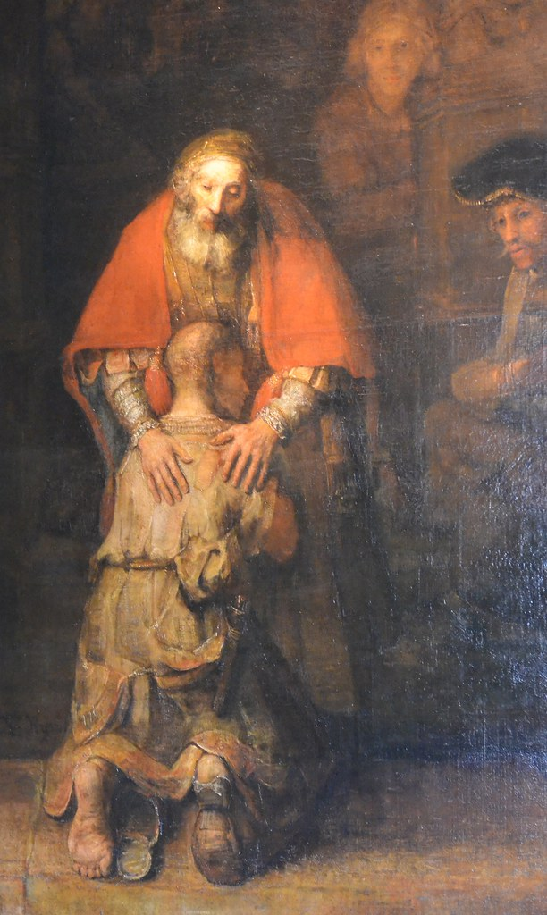 The Return Of The Prodigal Son Reflections Starting With The Picture By Rembrandt Ministri Degli Infermi